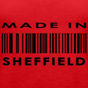 Made in Sheffield T-Shirts - Women's Premium Tank Top
