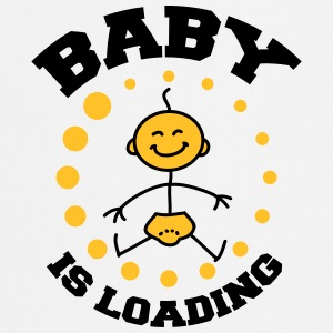 Baby Is Loading T-shirts - Forklæde