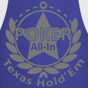 poker allin texas holdem T-Shirts - Cooking Apron