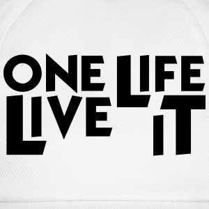 One Life Live It Mug - Baseball Cap