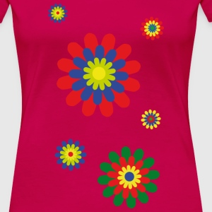 flowerpower 01 T-Shirts - Frauen Premium T-Shirt