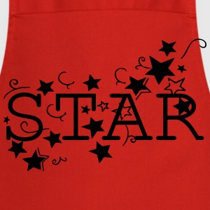 STAR  Women's V-Neck T-shirt - Cooking Apron