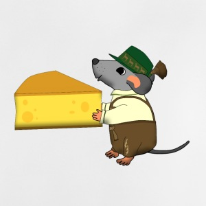 bavarian mouse with cheese Accessoires - Baby T-shirt