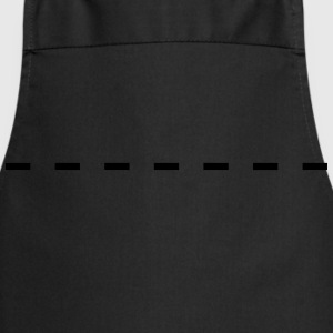 Dashed Line T-Shirts - Cooking Apron