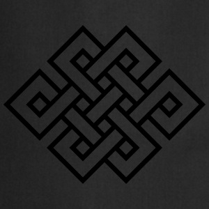 Tibetan endless knot, eternal, infinity, celtic Tee shirts - Tablier de cuisine