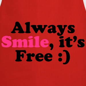 Always Smile T-Shirts - Kochschürze