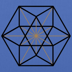 Cuboctahedron, vector equilibrium, Metatrons cube Tee shirts - Tote Bag