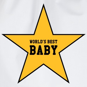 World's Best Baby T-shirts - Gymnastikpåse