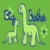 Dino_big brother Hoodies - Kids' Premium Hoodie