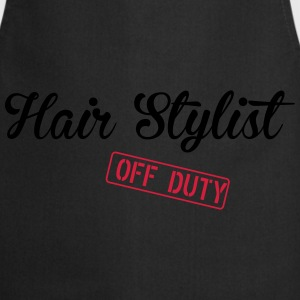 Hair Stylist Off Duty T-Shirts - Cooking Apron