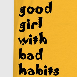 Warnweste Reflektoraudr. good girl with bad habits - Männer T-Shirt