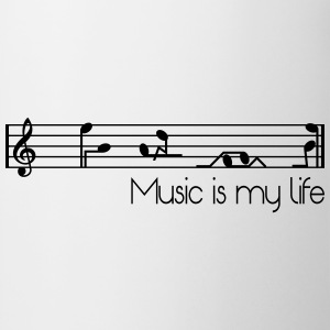 music is my life T-Shirts - Mug