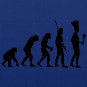 Evolution koken T-shirts - Tas van stof