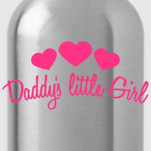 Daddys Little Girl Heart T-Shirts - Trinkflasche