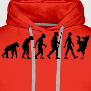 Evolution Breakdance - Männer Premium Hoodie