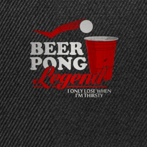 Beer Pong Legend Tee shirts - Casquette snapback