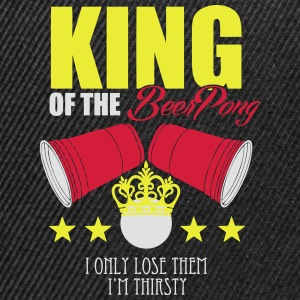 king_beerpong Tee shirts - Casquette snapback