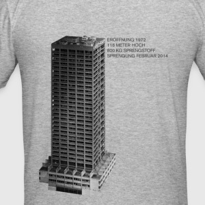 AfE Turm in Frankfurt am Main - Männer Slim Fit T-Shirt