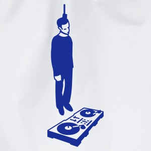 hang the DJ - Drawstring Bag