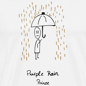 Purple Rain Bags & backpacks - Men's Premium T-Shirt