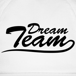 Text logo lettering couple dream team T-Shirts - Baseball Cap