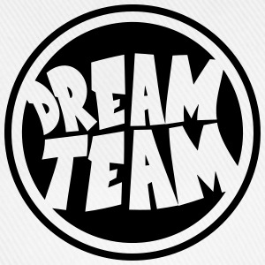 Circle round logo stamp graffiti dream team's frie T-Shirts - Baseball Cap