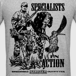 specialist_in_action Sweat-shirts - Tee shirt près du corps Homme