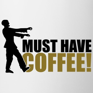 Must have COFFEE T-shirts - Kop/krus