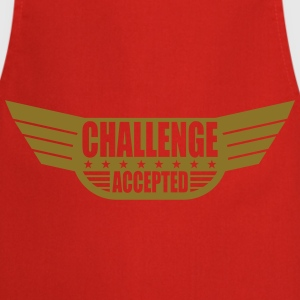 Challenge Accepted Banner T-Shirts - Cooking Apron