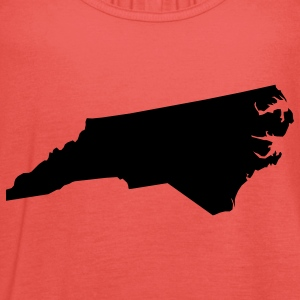 north carolina usa T-shirt - Top da donna della marca Bella