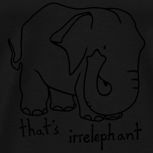 Irrelephant lines tank top women - Men's Premium T-Shirt