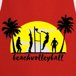 beach volleyball, volleyball  T-Shirts - Cooking Apron