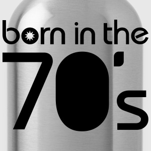 born in the 70´s T-shirts - Drikkeflaske