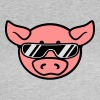 Sunglasses cool party pig T-Shirts - Women's T-Shirt