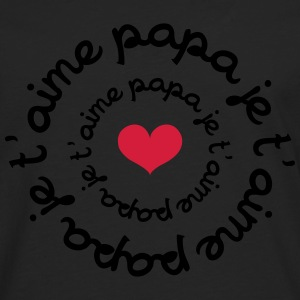 papa je t'aime ! Tee shirts - T-shirt manches longues Premium Homme