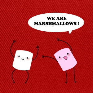 We are marshmallows! Tee shirts - Casquette snapback