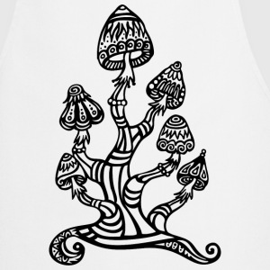 Magic mushrooms, wonderland, psychedelic, lsd T-Shirts - Cooking Apron