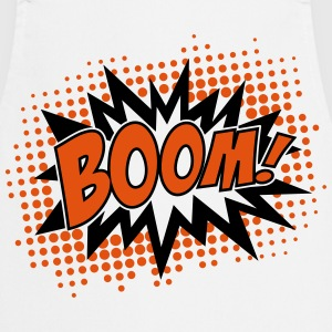 BOOM, comic, speech bubble, cartoon, balloon, dots Hoodies & Sweatshirts - Cooking Apron