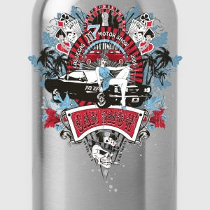 Pin Up Girl - Car Show No.02 T-Shirts - Trinkflasche