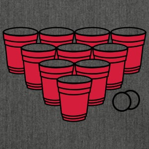 Beer Pong.eps T-Shirts - Shoulder Bag made from recycled material