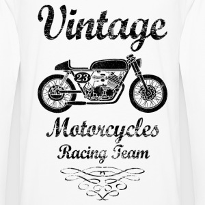 motorcycles racing team Hoodies & Sweatshirts - Men's Premium Longsleeve Shirt