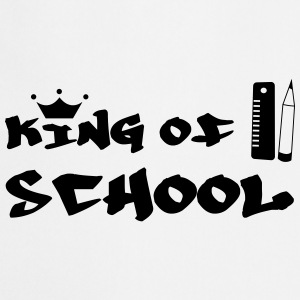 King of School Magliette - Grembiule da cucina