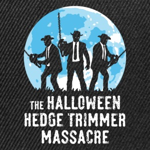 The Halloween Hedge Trimmer Massacre (PNG) T-Shirts - Snapback Cap