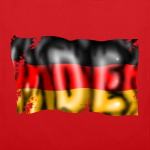 Germany flag T-paidat - Kangaskassi