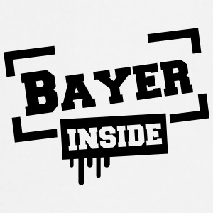 Bayer dentro Camisetas - Delantal de cocina