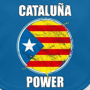cataluña power 02 Tee shirts - Bavoir bio Bébé