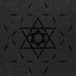 ✡ Hexagram, Magic, Merkaba, David Star, Yin Yang Hoodies & Sweatshirts - Snapback Cap