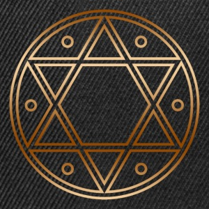 Seal of Solomon, Magic Sigil, hexagram, symbol T-Shirts - Snapback Cap