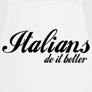 Gris chiné italians do it better T-shirts - Tablier de cuisine