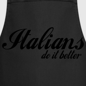 Marine foncé italians do it better T-shirts - Tablier de cuisine